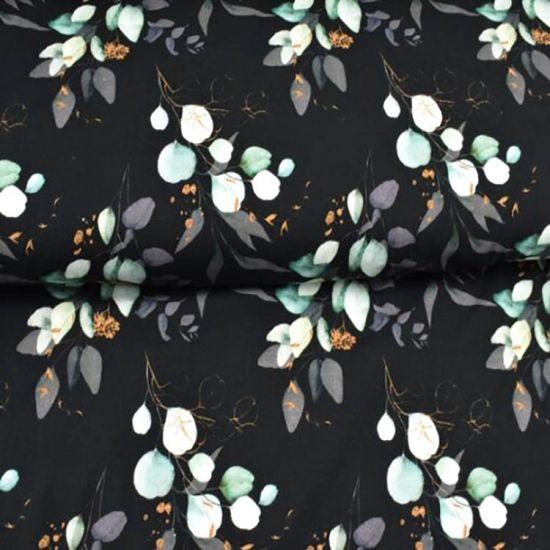 Jersey - Eukalyptus – Dark & gold - KATINOH