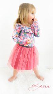 Sehr Kostenlose Nähanleitung – Tüllrock für Kinder selbst nähen – Blog TR11