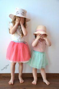 Extrem Kostenlose Nähanleitung – Tüllrock für Kinder selbst nähen – Blog JI53