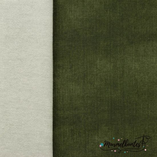 Sommersweat - Jeans French Terry - Olive