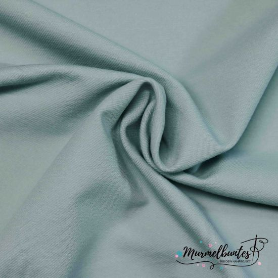 Jeansjersey - Soft Touch - Mint