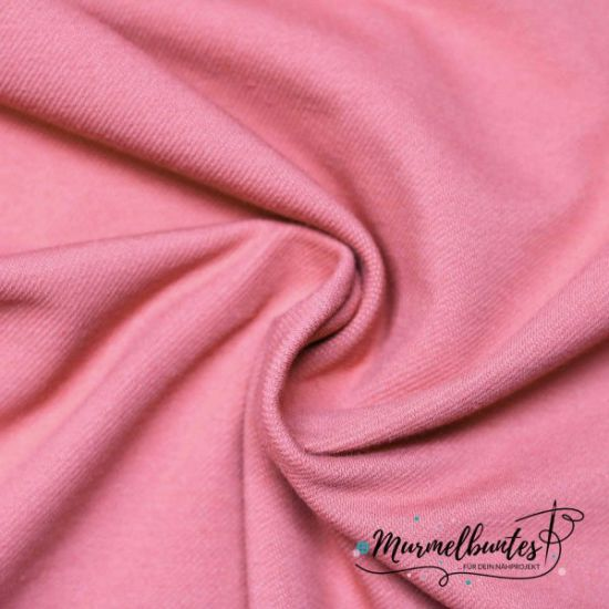 Jeansjersey - Soft Touch - Rosa